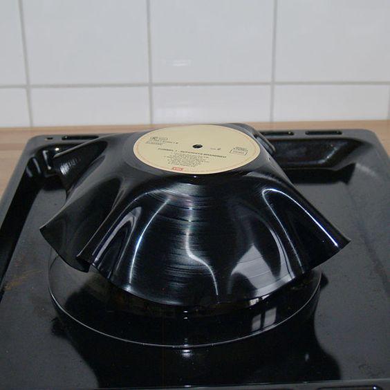 DIY Academy: Schale aus Schallplatte