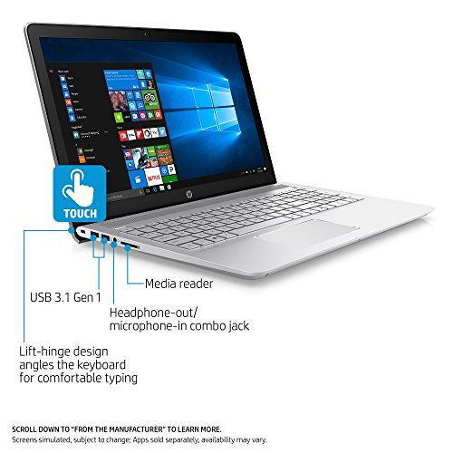 Hp Pavilion 15 Inch Laptop Intel Core I5 7200u 8gb Ram 1tb Hybrid Hard Drive Windows 10 Intel Core 17 Inch Laptop Pavilion Laptop