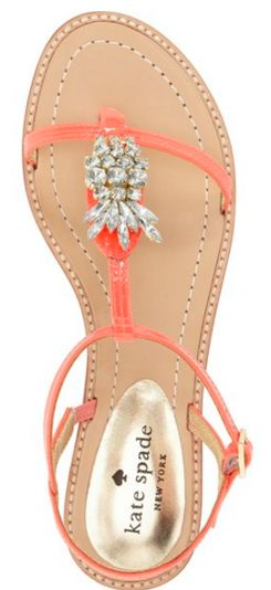 Love these gorgeous kate spade pineapple flats