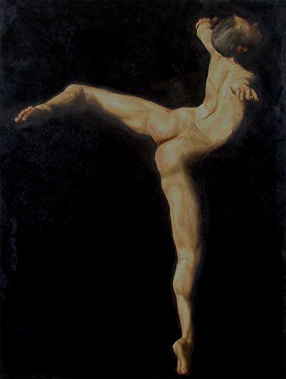Body Language #2 by Laura den Hertog Oil ~ 24 x 18