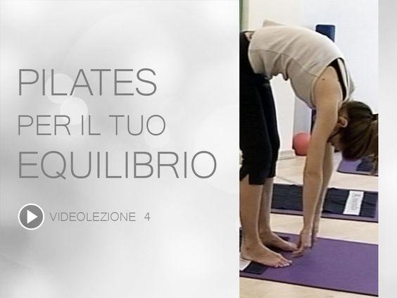 Video Pilates Lezione 4 | Pilates per il tuo Equilibrio