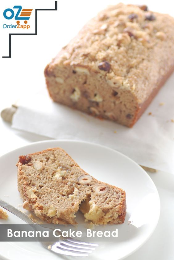 Banana-cake-bread https://orderzappblog.wordpress.com/2015/10/29/order-cakes-online/ To place order call on 022-33836039