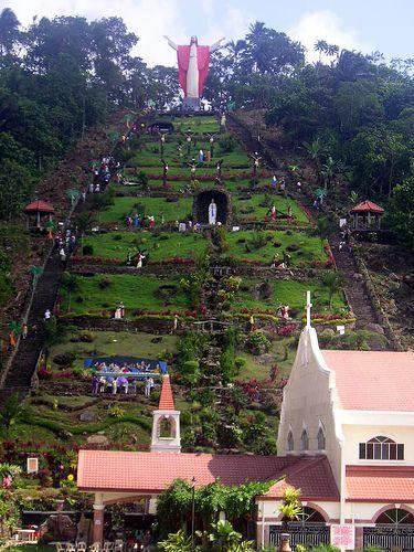 Stations of the Cross. Kamay ni Hesus Shrine, Lucban Quezon