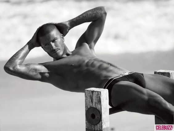 David Beckham - the only reason people watch soccer. ;)