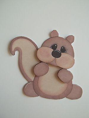 3D Paper Piecing  - 527 Squirrel Animal  Embellishment