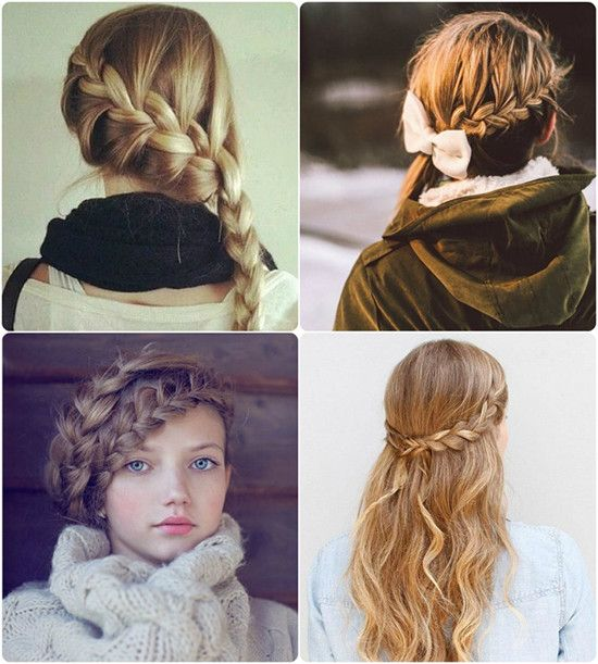 Awe Inspiring 2014 Hairstyles Braids And Color Trends On Pinterest Hairstyles For Men Maxibearus