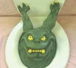 Toilets Pranks And Monsters On Pinterest
