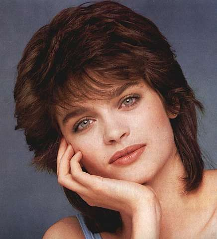 Feathered hairstyles, 80s hairstyles and Hairstyles on ...
