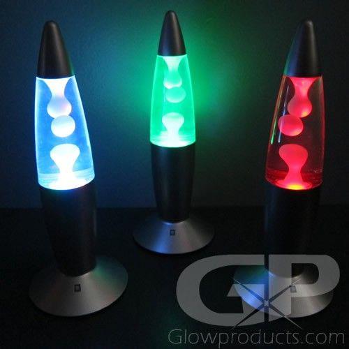 Color Changing Mini Lava Lamps, Battery Lava Lamp Centerpieces