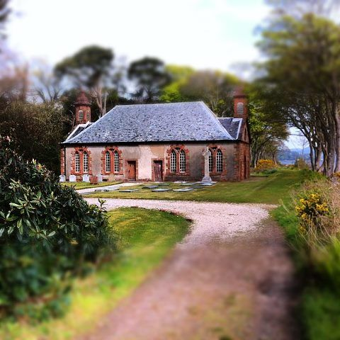 The private chapel in the grounds of Mount Stuart House.