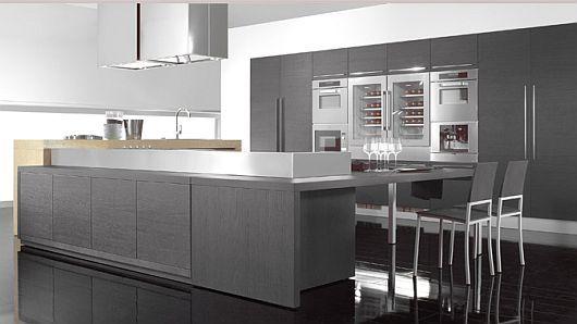 Sleek and ultra modern -  Kitchen Designs from Tecnocucina