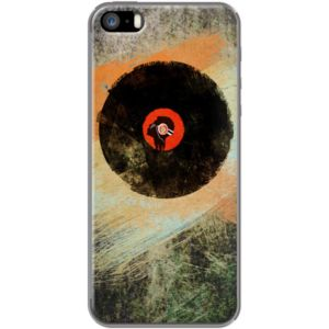 Vinyl Record Retro  - New Vinyl Records Grunge Design By Denis Marsili for Apple  iPhone 5