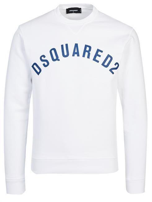 DSQUARED Pullover S74GU0155 S25277 white 100% Cotton (eBay
