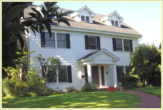 Colonial house with porch home styles monrovia homes for Colonial style homes for sale