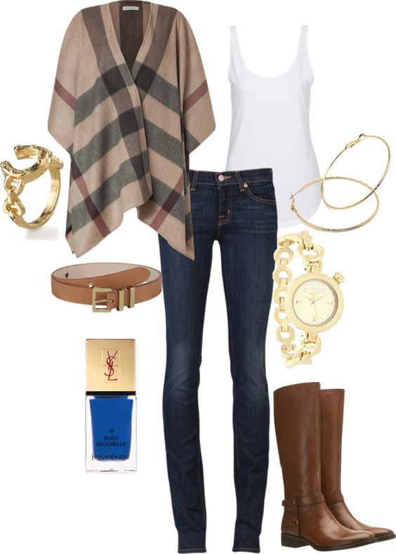 fall.. i'm kind of obsessed with that Burberry cape!: Fall Casual, Dream Closet, Fall 2012, Fall Outfits, Fall Fashion, Burberry Wrap, Fall Winter