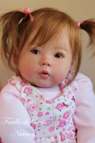 Feuille de Cerise Nursery - reborn girl toddler doll Kana by Ping Lau poupée | eBay