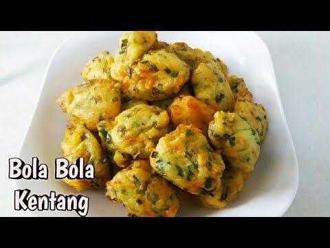 Resep Camilan Enak Bola Bola Kentang Wajib Coba Potato Balls Youtube Resep Makanan Kentang Camilan