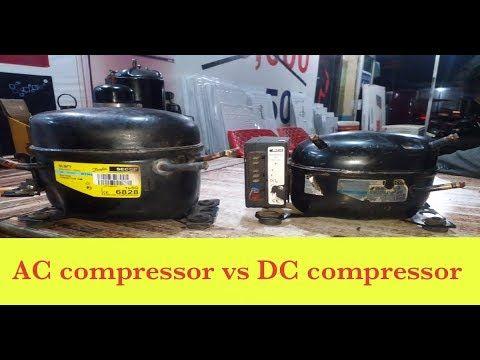 Ac Compressor Vs Dc Compressor 12v Dc Compressor Ft Tech In 2020 Ac Compressor Compressor Refrigerator Compressor