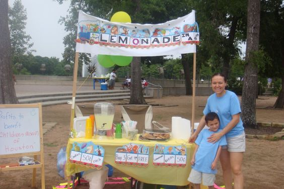 "Carlos took his love for trains and business savvy and applied them to Lemonade Day this year! His mom tells us his story, ""He told me this experience made him realize it takes a lot of work and dedication to put up a new business."""