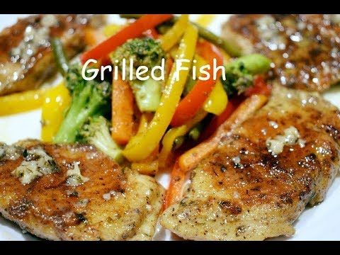 Homemade Grilled Fish With Lemon Butter Sauce How To Make