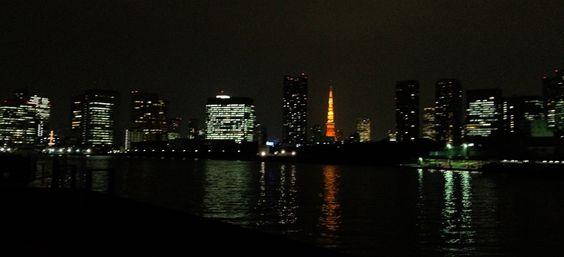 Kachidoki Marina | Tokyo Tower | Sumida River