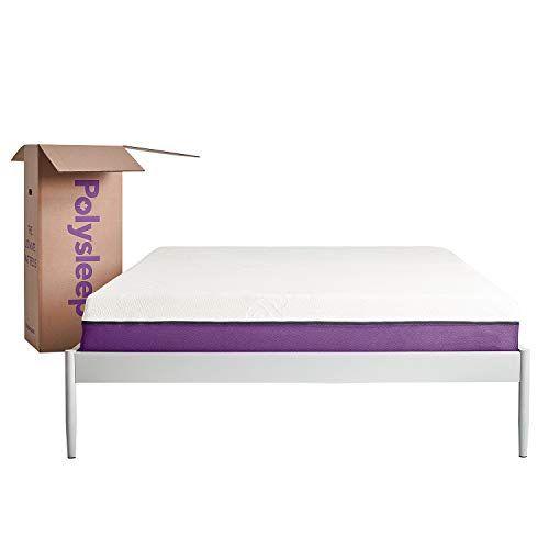 Polysleep Bed In A Box Memory Foam Hybrid The Polysleep Mattress Available In Any Size Queen King Twin Twin Xl C With Images Mattress Box Bed Queen Mattress Size