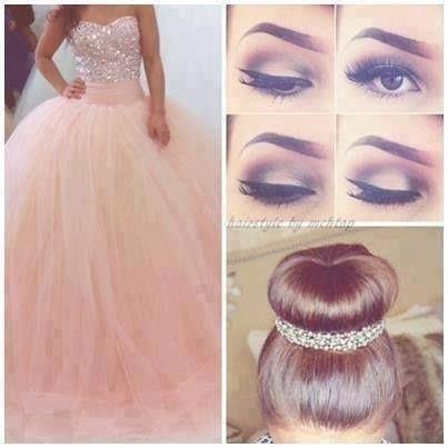 #Hermoso #Vestido #Makeup #Peinado #<3