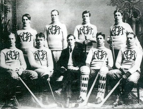 ICE HOCKEY: Michigan College of Mines (Michigan Tech University) hockey team, 1901