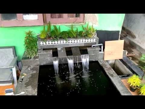 Tutorial Bikin Air Terjun Agar Jatuhnya Rata Youtube Kolam