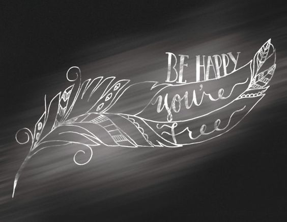 feathers poster prints and chalk lettering on pinterest