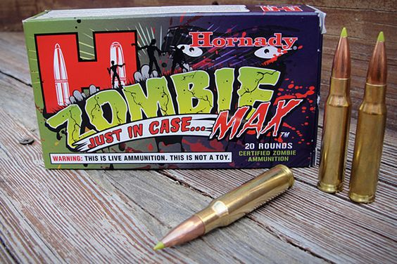 Hornady Zombie Max Ammo - I remember when I got laughed at for liking Zombie stuff...