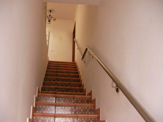 Pasamanos de escalera en acero inoxidable tenerife for Pasamanos escalera interior
