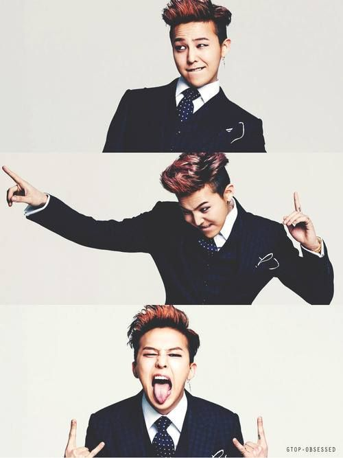 G Dragon - Kwon Jiyong Nobody can have the same style as him. He's too unique <3
