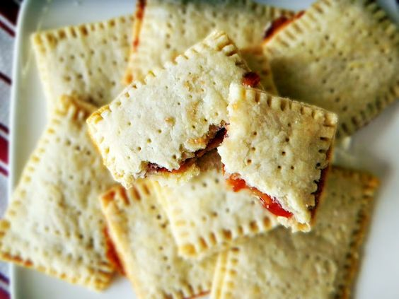 Homemade Poptarts with assorted fillings