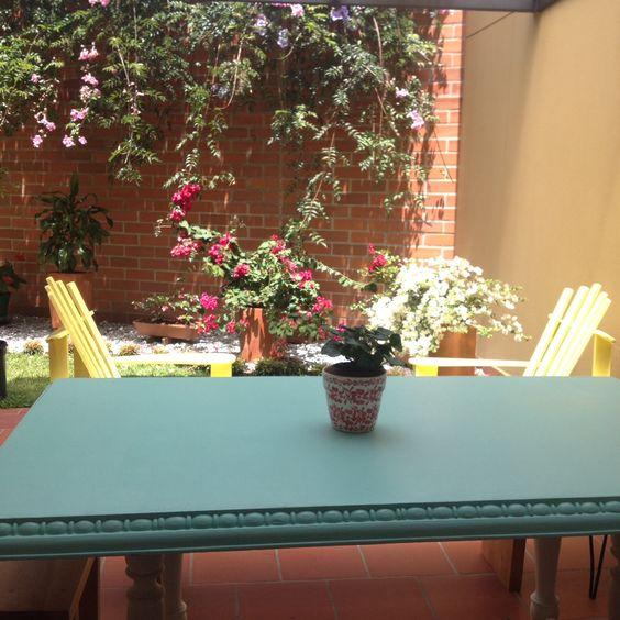 Jardín vintage #llanogrande