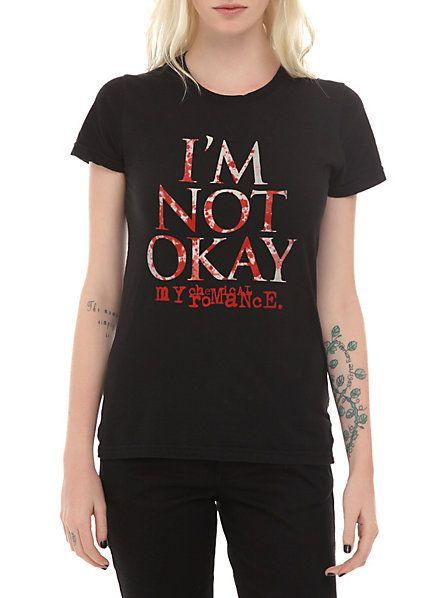 My Chemical Romance I'm Not Okay Girls T-Shirt | Hot Topic