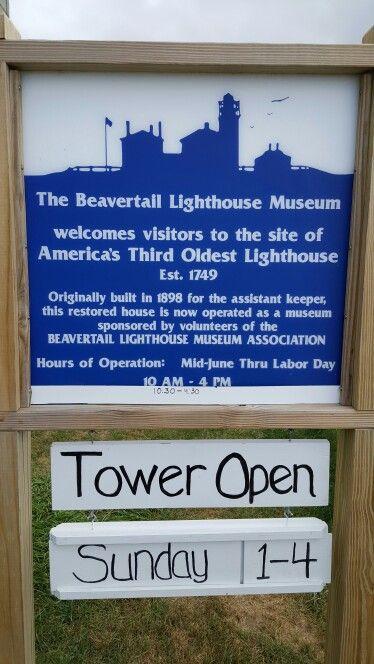 Beavertail lighthouse - Jamestown,  RI
