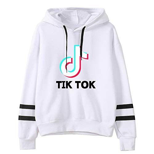 Tik Tok Kid Hoodies Pullover Casual Hooded Long Sleeve Jumper Hoodie Top