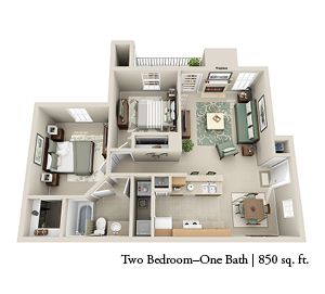 2 Bedroom 1 Bath 850 Sq Ft In 2020 Sims House Design Fireplace Apartment Apartment Layout
