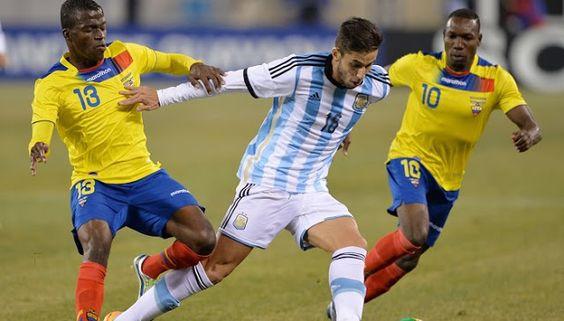 Mira en vivo Argentina vs Ecuador: http://www.envivofutbol.tv/2015/10/ver-partido-argentina-vs-ecuador-en-vivo.html