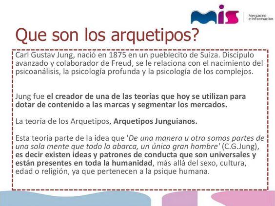 ... Arquetipos de Jung. http://es.slideshare.net/mercadeoeinformacion/los-arquetipos-de-jung-y-los-centros-comerciales