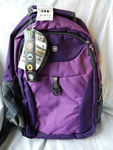 Swiss Gear Computer Backpack, Purple Swiss Gear http://www.amazon ...