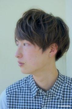 スマートマッシュスタイル☆メンズ髪型   GARDEN HAIR CATALOG   原宿 表参道 銀座 美容室 ヘアサロン ガーデン