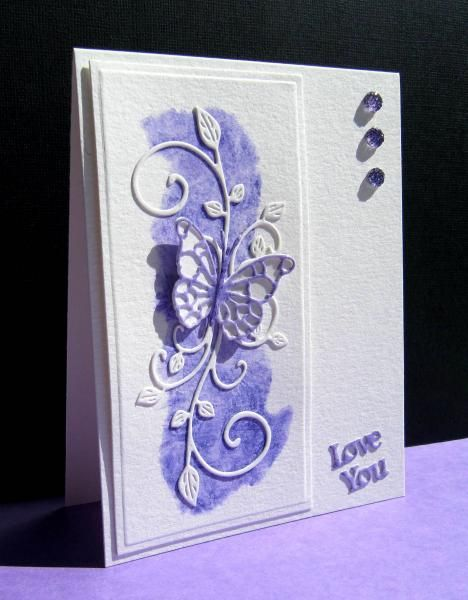 FS380 Purple Splash by catluvr2 - Cards and Paper Crafts at Splitcoaststampers