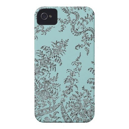 Fancy - Abstract swirl lace pattern iphone 4 cases from Zazzle.com by #In-Case