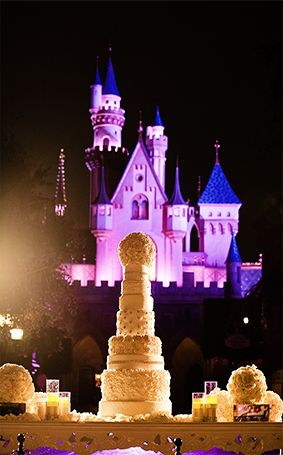 This Fabulously Over The Top Disneyland Wedding Cake Looks As If It Was Served Right Out Of A Fairy Tale