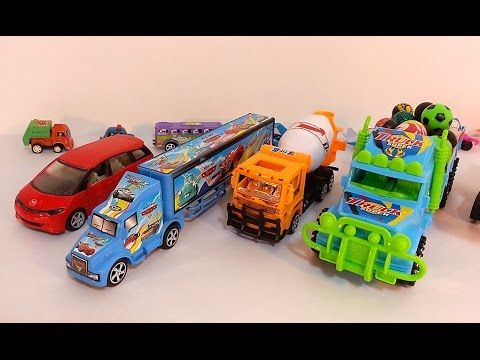 small toy cars for kids toy truck vehicles toy videos for children