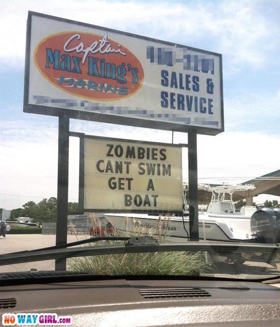 Good reason to buy a boat
