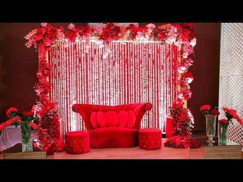 20 Latest Wedding Stage Decoration Ideas ll Wedding Decoration ...