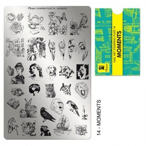Moyra Moments Stamping Plate